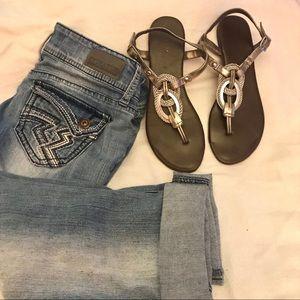 Mossimo flat sandals